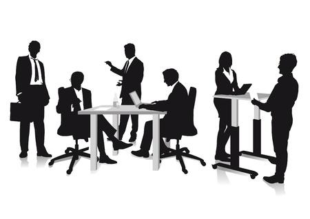 Diskutieren Geschäft Standard-Bild - 20753025