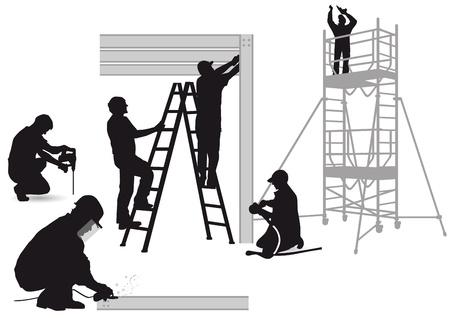 artesano: La construcción de acero y cerrajeros