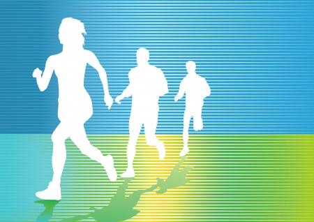 連続実行とジョギング