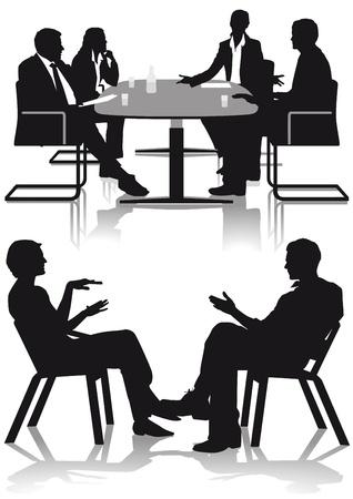 議論および相談