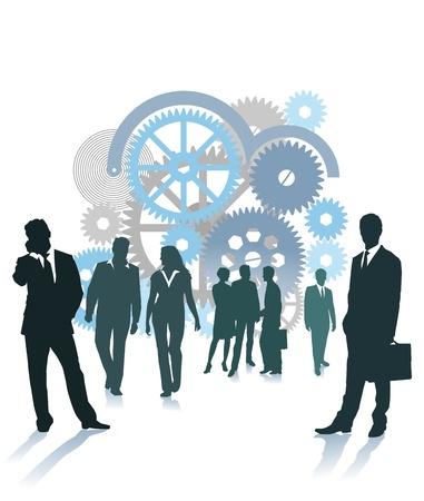 Company vision Illustration