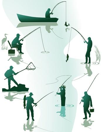 рыбаки: Рыбалка и рыболовные