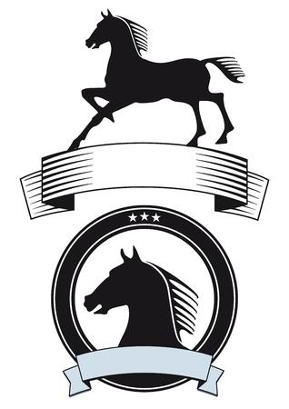 horse symbol Stock Vector - 21642364