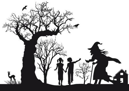 Hänsel und Gretel Standard-Bild - 21972588