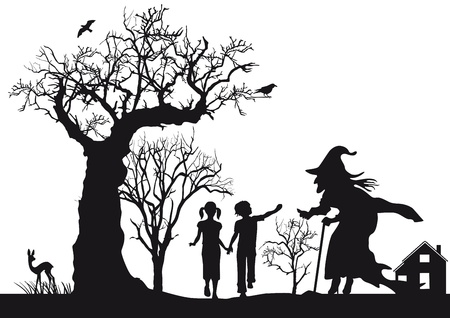 narration: Hansel and Gretel Illustration
