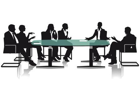 会議や討論