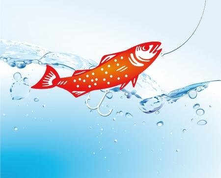 lure: Fishing in the lake
