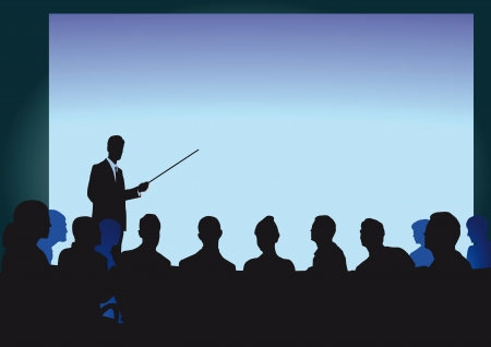 Lecture and Training Stock Vector - 22730956