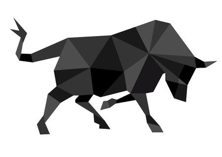 bullfighter: Abstract bull
