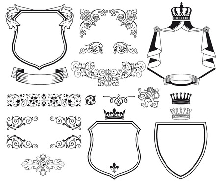 Traditional design elements Vector
