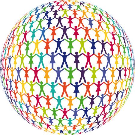 People Partnership Illustration