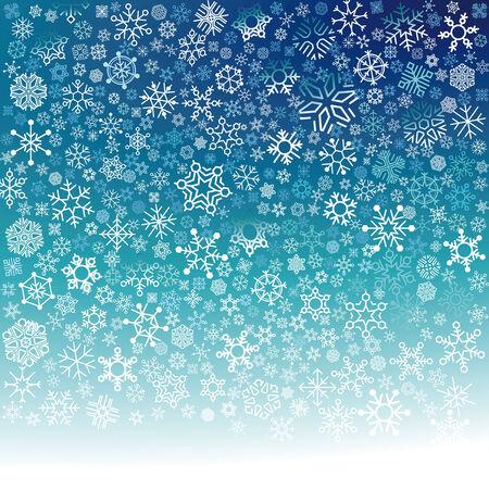 Snowfall Stock Vector - 24188831