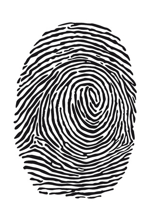 thumb print: fingerprint