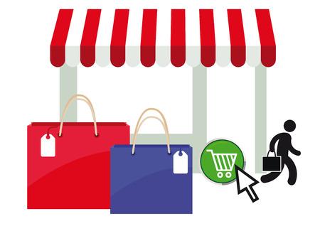 e auction: online shopping