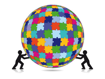 Puzzle challenge  Vector