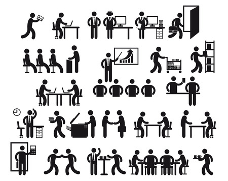 convention: Office Jobs  Illustration