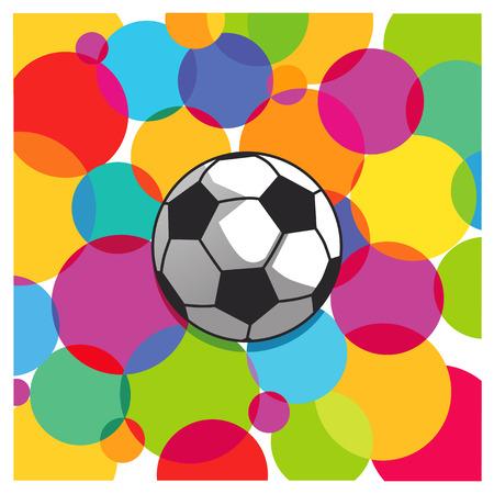 soccer wm: football score Illustration