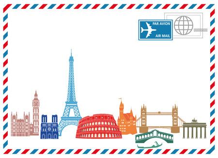 Travel and Write  Ilustração