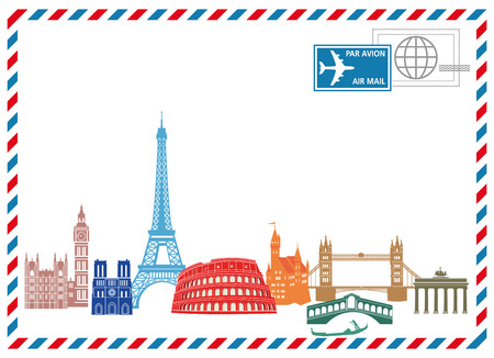 european culture: Travel and Write  Illustration