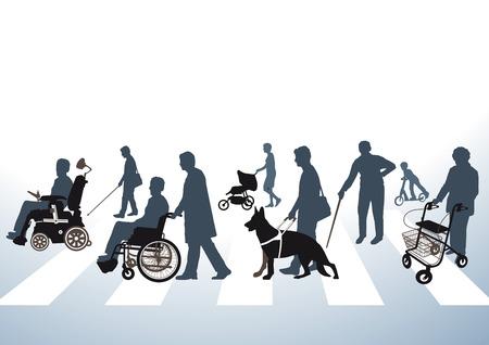 장애인 접근 도로