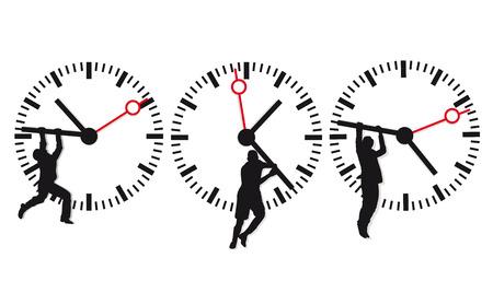 stop time: time deadline  Illustration