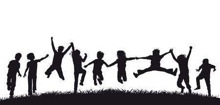 convivencia escolar: Diversión para los niños