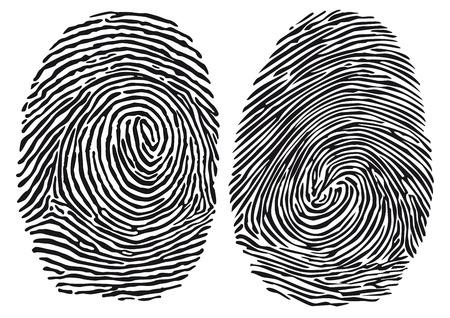 fingerprint Banco de Imagens - 30686589