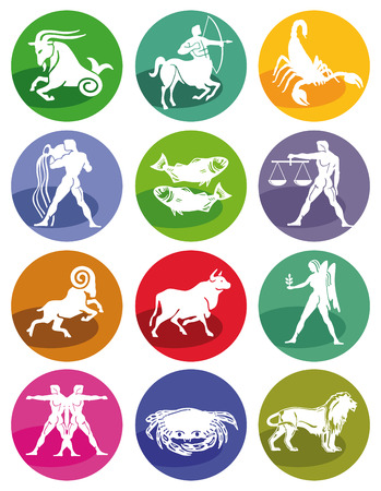 Astrological zodiac signs  Vector
