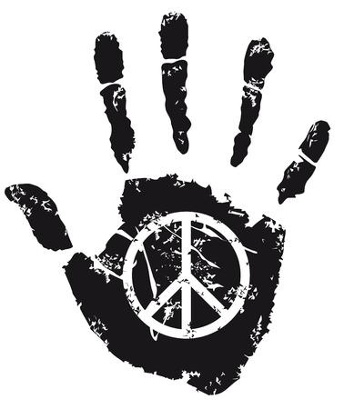 peace Sign  Ilustração