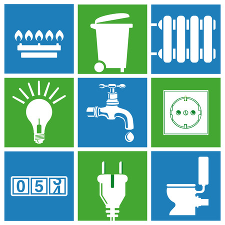 household waste disposal  Vector