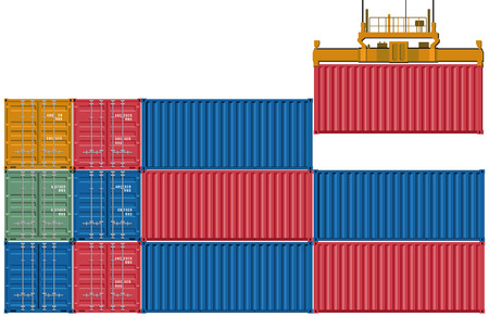 freight forwarding: Upload and send container