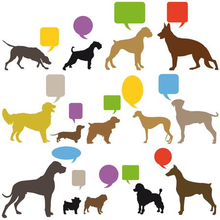 Dog Sign Language Reklamní fotografie - 31398737