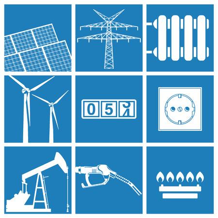 electricity pylon: Energy and utilities