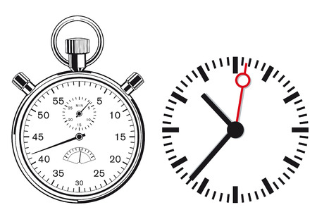 knowledgeable: Clock, Stopwatch