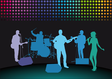 20,302 Rock Band Stock Vector Illustration And Royalty Free