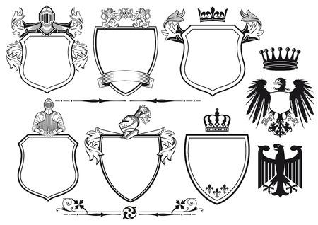 Royal Knights Coat of Arms Vector