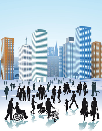 citylife: citylife Illustration