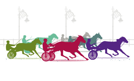 trotters: trotting track