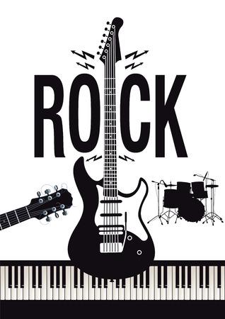 rock music concept