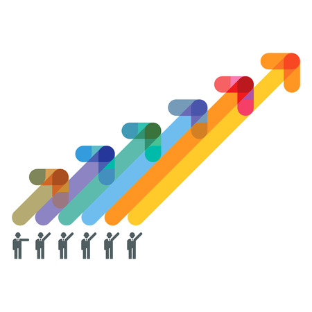 goal setting: recovery balance Illustration