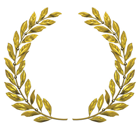veneration: gold laurel wreath