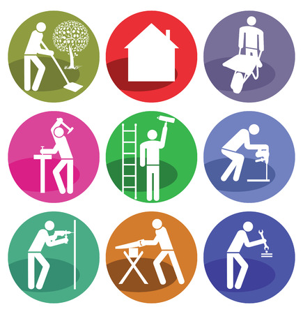 Home Craftsman Illustration
