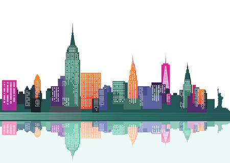 colorido Nueva York