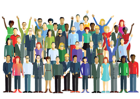 workers: Grupo grande Vectores