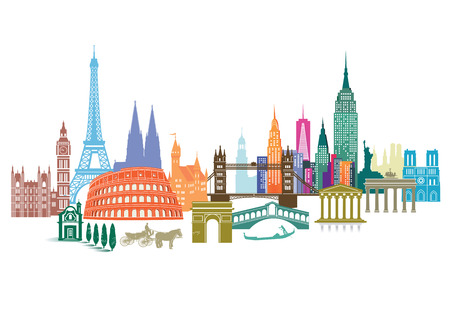 旅行: 旅行のランドマーク
