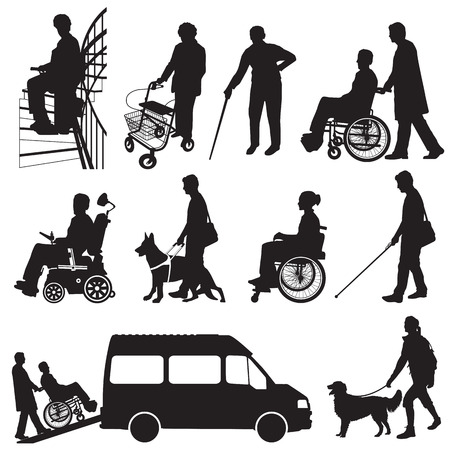 help people: Disabled People