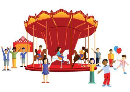 fair play: Carousel with kids