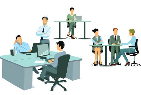 associate: Office work