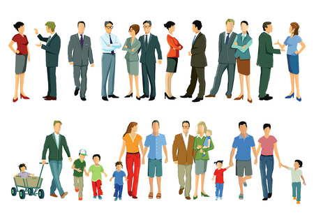 humane: Individuals and families Illustration