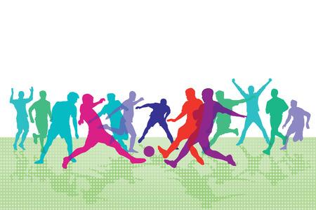 arquero futbol: colores de fútbol